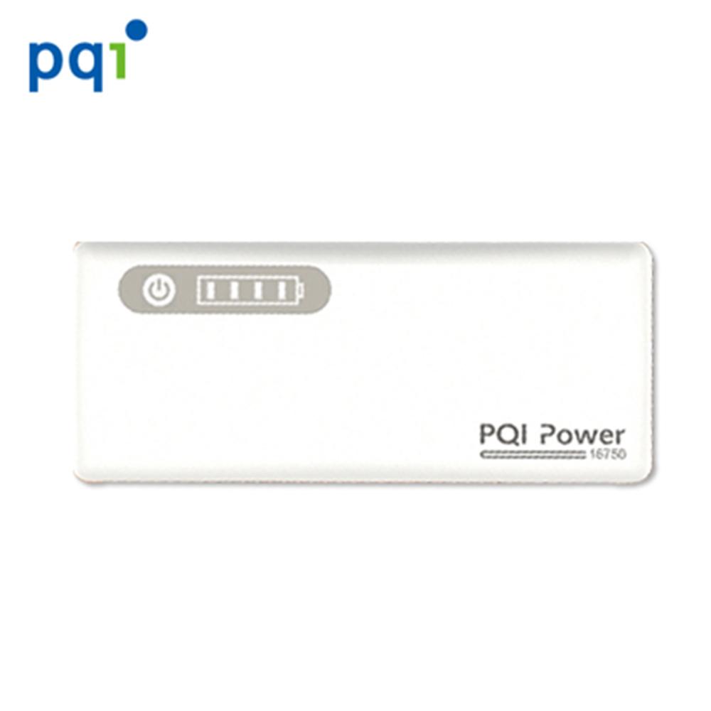 PQI Power 16750mAh 行動電源-白