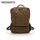 vensers 韓潮棉麻包系列~後背包(D056901咖啡)