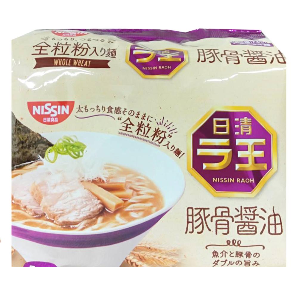 日清5食袋裝麵-豚骨醬油味(490g)