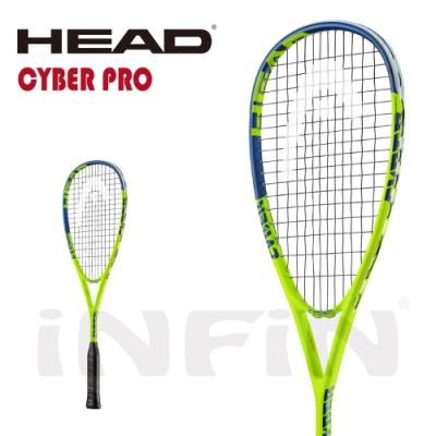 【HEAD】壁球拍 CYBER PRO 170g 螢光綠/藍 213029