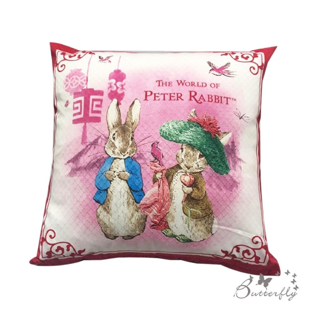 台製MIT-比得兔Peter Rabbit彼得兔經典系列抱枕-比得班