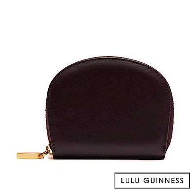LULU GUINNESS CRESCENT 零錢包 (茄紫)