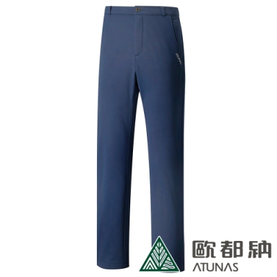 【ATUNAS 歐都納】男WINDSTOPPER防風保暖長褲A1-PA1828M藍
