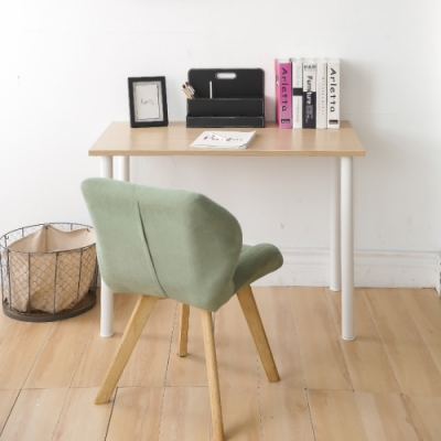 完美主義 圓腳美學工作桌/電腦桌/書桌/餐桌-100CM(8色)