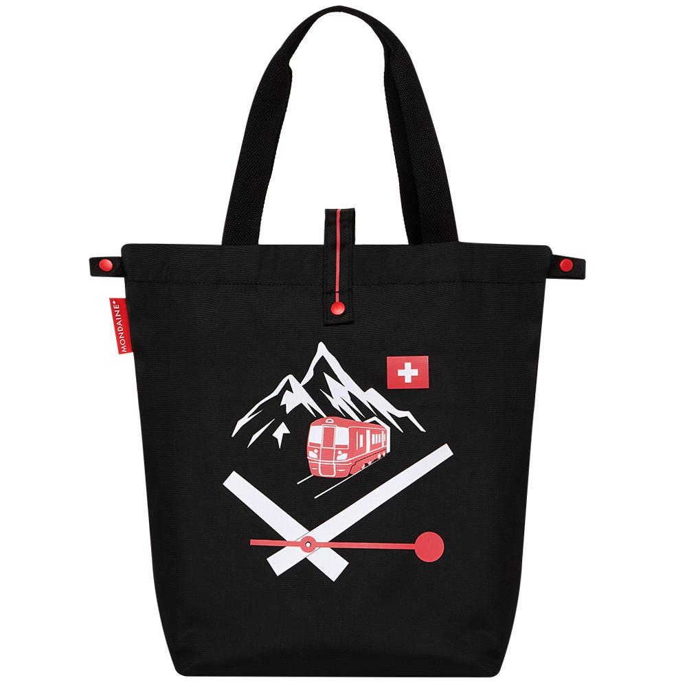 MONDAINE 瑞士國鐵摺疊肩背包-Rigi瑞吉峰