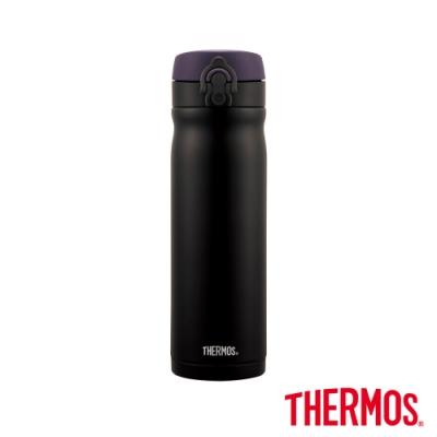 THERMOS膳魔師 彈蓋不鏽鋼真空彈蓋保溫瓶0.5L(JMY-503-ALB)