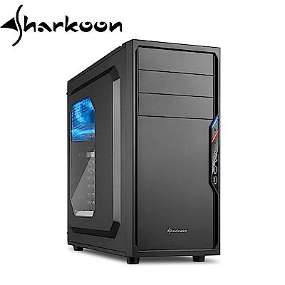 Sharkoon 旋剛 防衛者 VS4-W 黑  電腦機殼