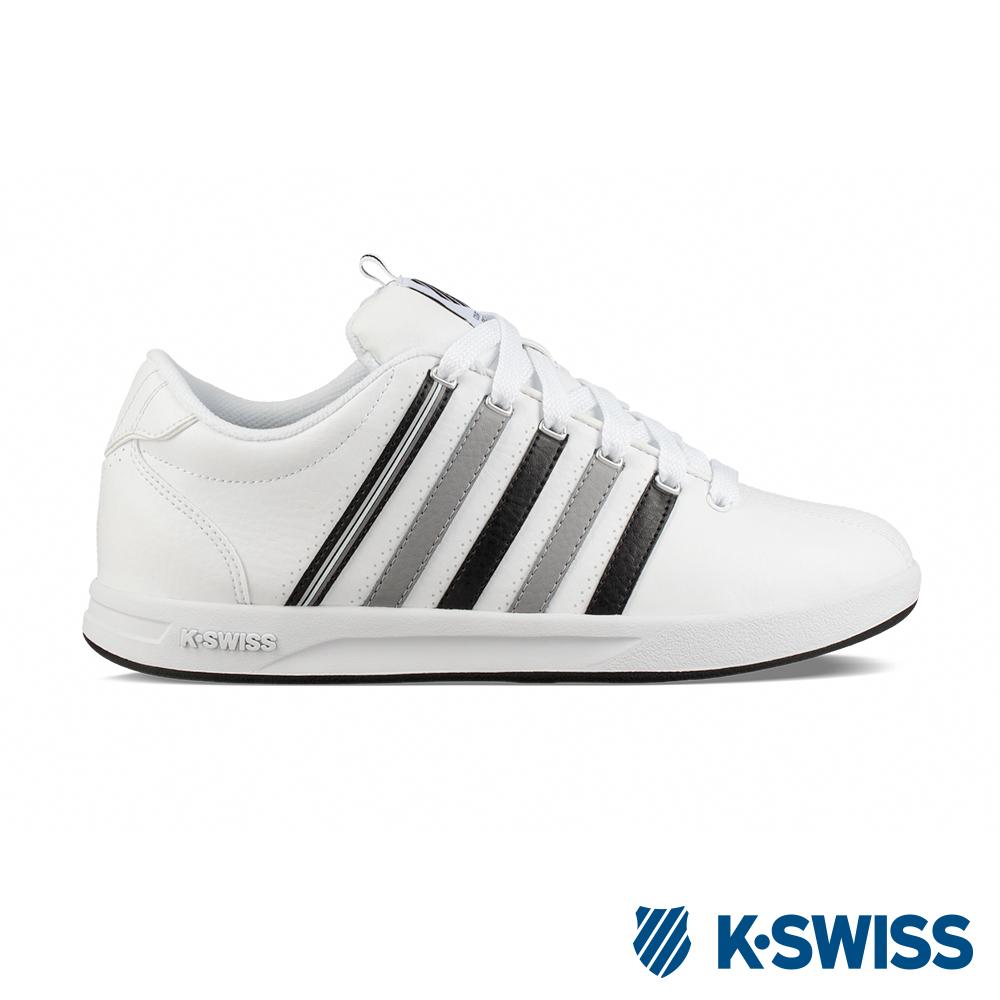 K-SWISS Court Pro S CMF休閒運動鞋-男-白/灰/黑