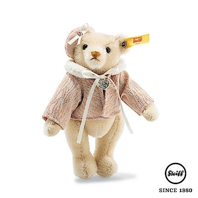 STEIFF德國金耳釦泰迪熊 巴黎女郎泰迪熊 Paris(收藏版)