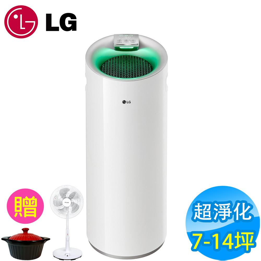 LG樂金 7-14坪 超淨化大白空氣清淨機 PS-W309WI 白色