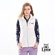 【Lynx Golf】女款防潑水LXG防水反光貼條胸袋款無袖背心-牙白色 product thumbnail 2