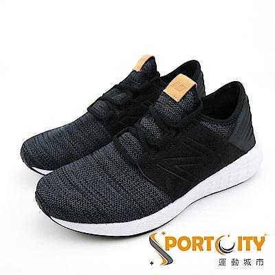 New Balance 男慢跑鞋 黑灰 MCRUZKB2-D