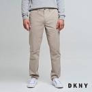 DKNY 男款 俐落直筒休閒長褲 卡其