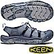 KEEN 1020286灰藍/藍 Newport H2 男戶外護趾涼鞋 product thumbnail 2