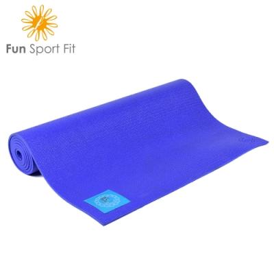 FunSport yoga-小秘境瑜珈墊-(6mm)-卡蜜拉束背帶 (PER材質)