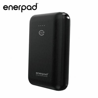 【enerpad】高容量迷你型行動電源-10000mAh-黑 Q-710