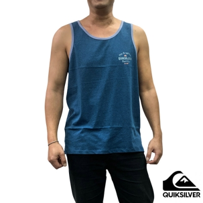 【QUIKSILVER】ENERGY PROJECT TANK 背心 藍色