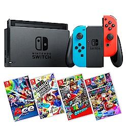 任天堂 Nintendo Switch 電光藍、電光紅Joy-Con 台灣