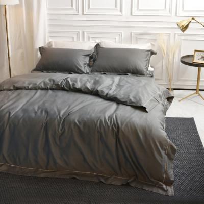 織眠家族 長絨棉刺繡單人床包組+雙人被套-羅馬假期