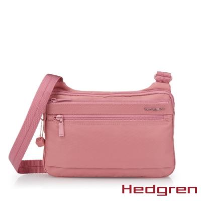 【Hedgren】INNER CITY貼身收納 側背包-能量粉