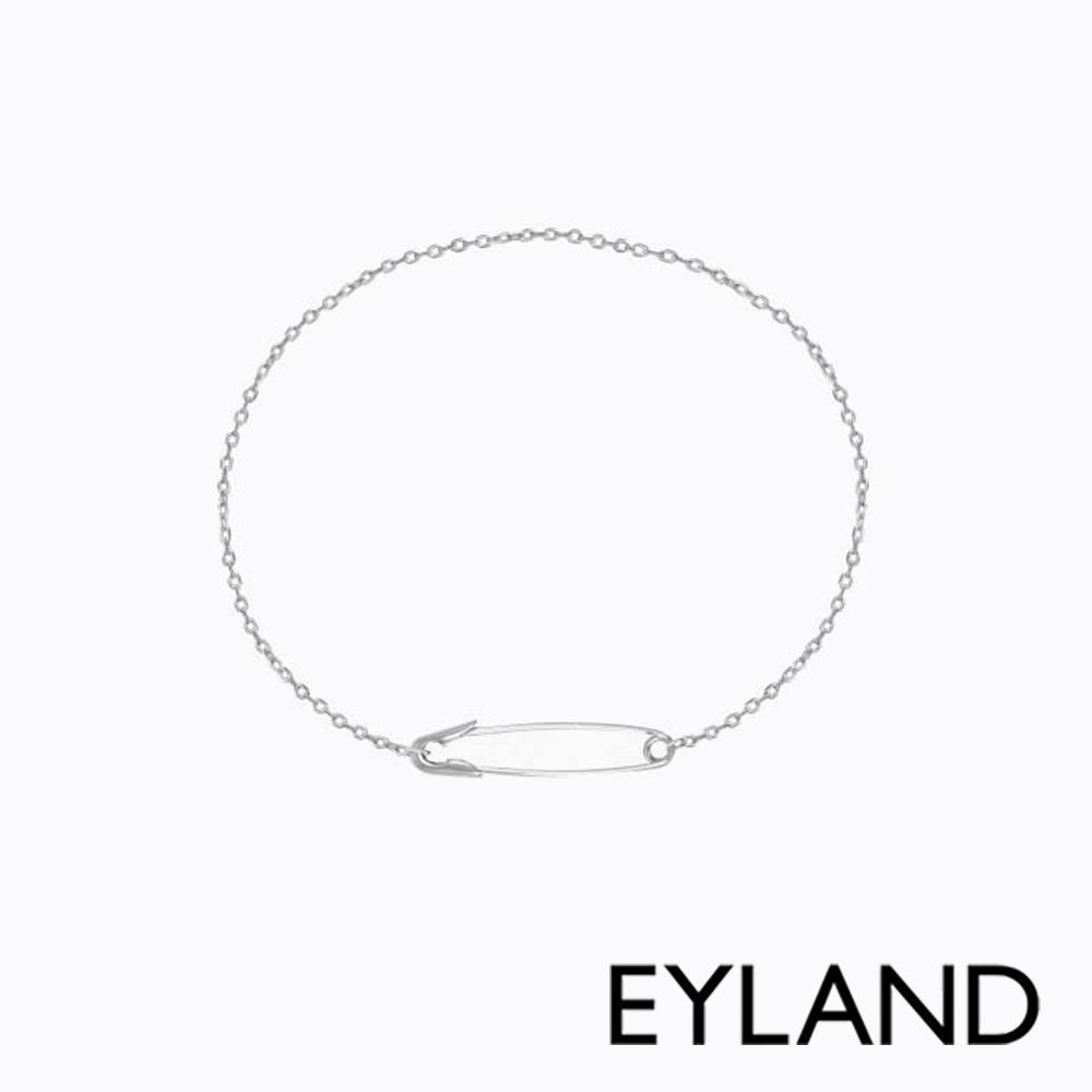 Eyland英國倫敦 TAMA 個性迴紋針白金手鍊