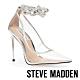 STEVE MADDEN-VIRGE 透明水鑽繞踝尖頭高跟鞋-透明銀 product thumbnail 1