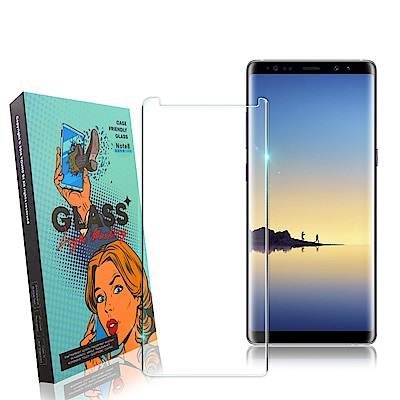 YOUND DI for Samsung Note 8 3D曲面玻璃硬度加強版