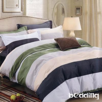 BEDDING-活性印染 特大6x7尺床包三件組-原野之戀