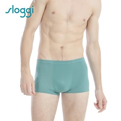 【Sloggi】men Cool Stripy系列極尚涼感平口褲 RG918504WR