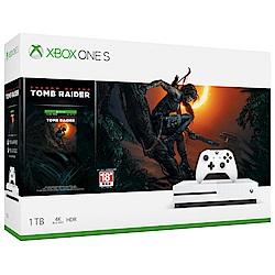 Xbox One S 1TB – 《古墓奇兵:暗影》同捆組