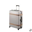 【日本製造PROTECA】雅緻-30吋經典復古行李箱(象牙白)