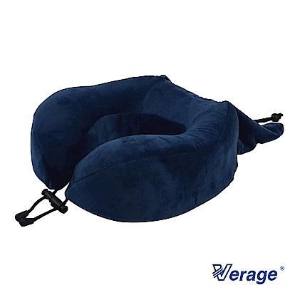 Verage 高支撐可收納記憶按摩頸枕 (藍)