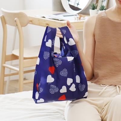 日本 Prairie Dog 摺疊口袋包 - 心之烙印
