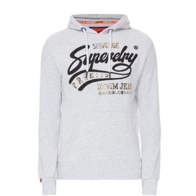 Superdry Heritage 經典連帽上衣(淺灰色)