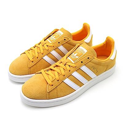 ADIDAS-CAMPUS W女休閒鞋-黃