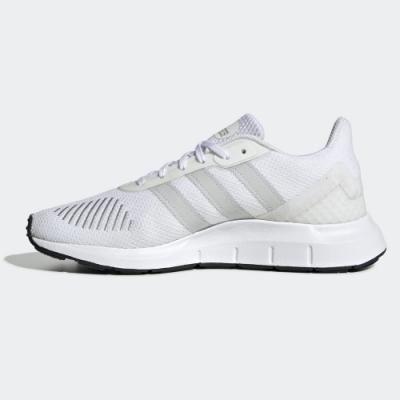 adidas 休閒鞋 緩震 運動 女鞋 白 FW1647 SWIFT RUN RF W