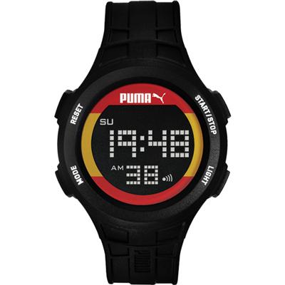 PUMA 復刻奧運西班牙時尚運動腕錶-PU911301009