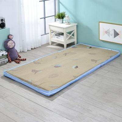 戀戀鄉 (單人3X6尺)台灣製極致舒柔5CM冬夏兩用單人床墊(三款)