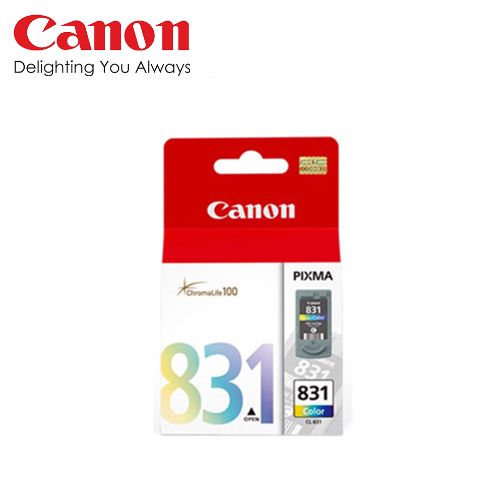 CANON CL-831 原廠彩色墨水匣 @ Y!購物