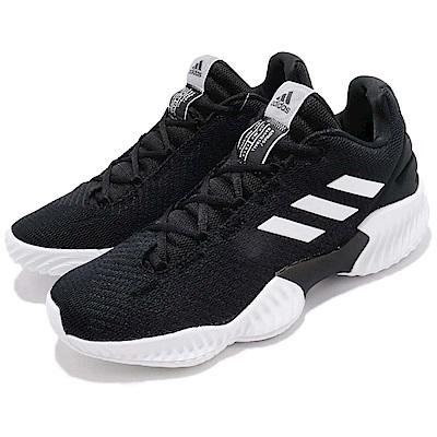 adidas 籃球鞋 Pro Bounce 低筒 運動 男鞋