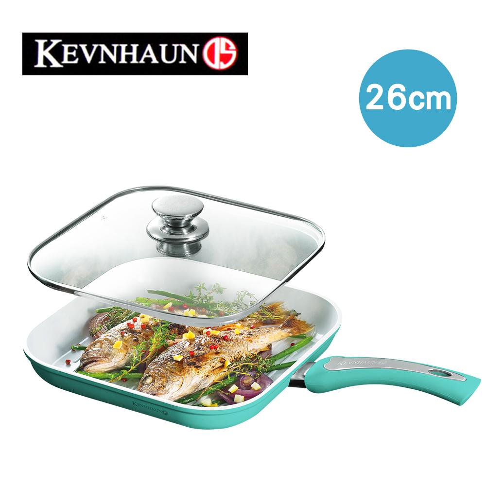 KEVNHAUN 陶瓷不沾方型烤魚鍋(26cm)