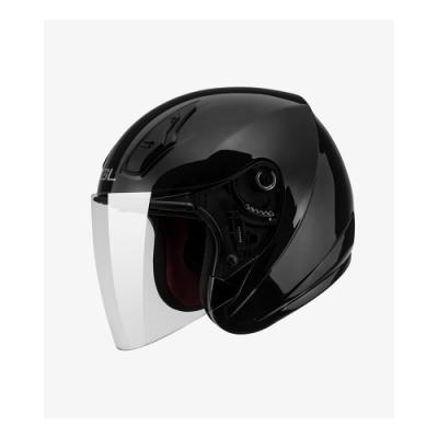 【SOL】SO-8 素色 素黑 3/4罩(安全帽│半罩│開放式│小頭款│GOGORO)