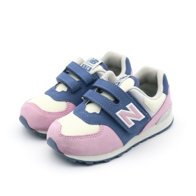 NEW BALANCE  復古鞋  嬰幼 粉紫