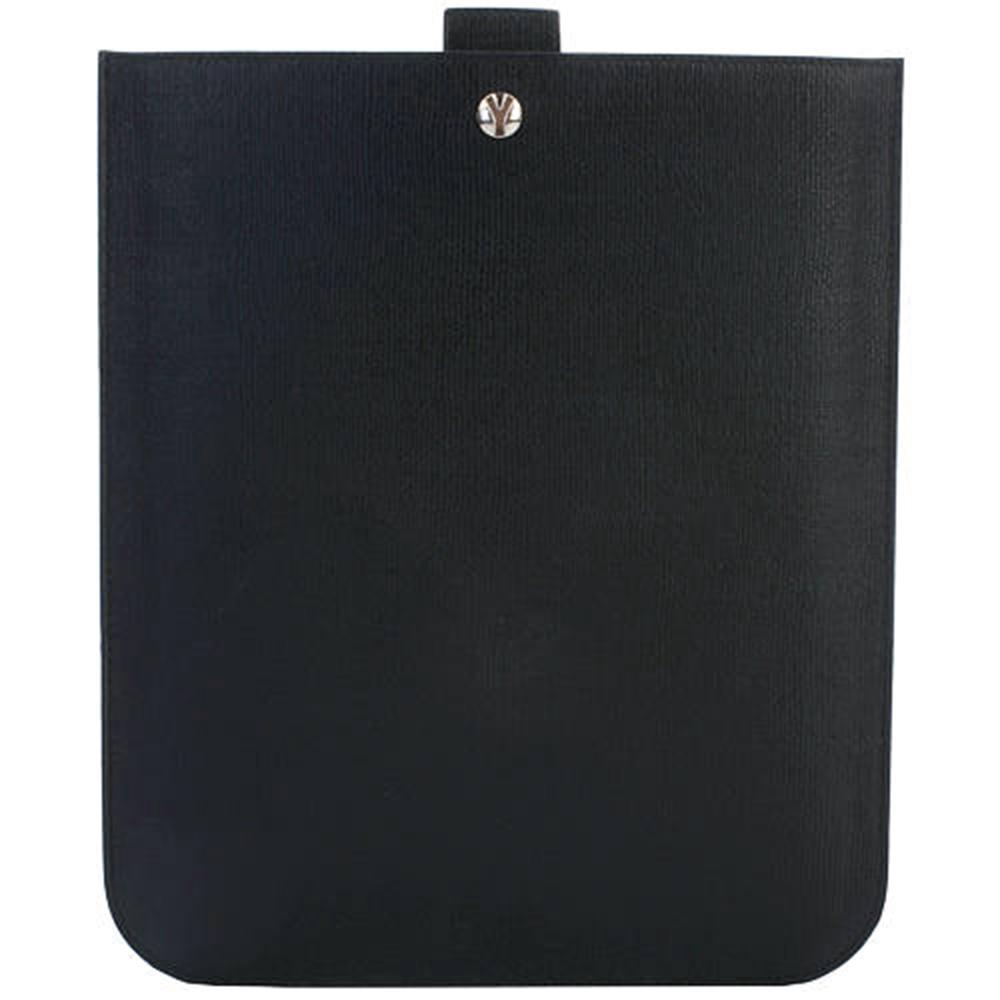 YSL YCON 黑色牛皮iPad保護套