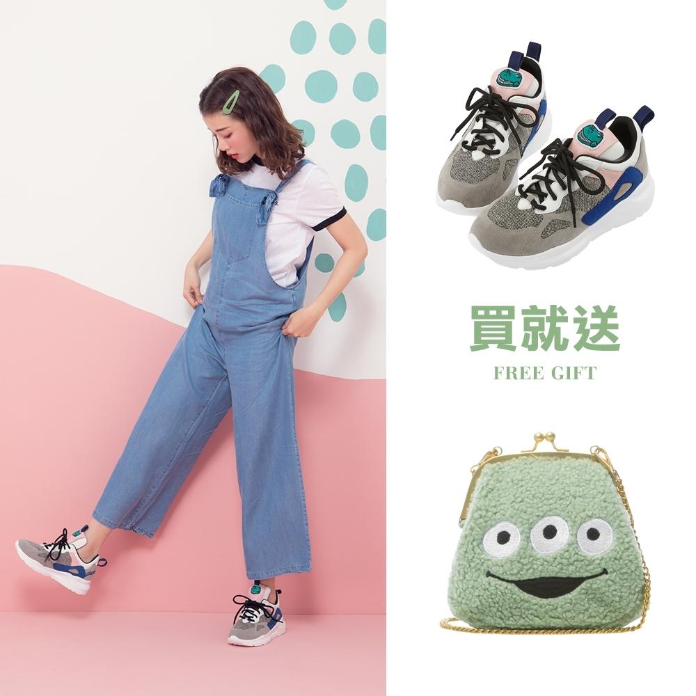 Disney collection by gracegift玩具總動員潮流老爹鞋 灰