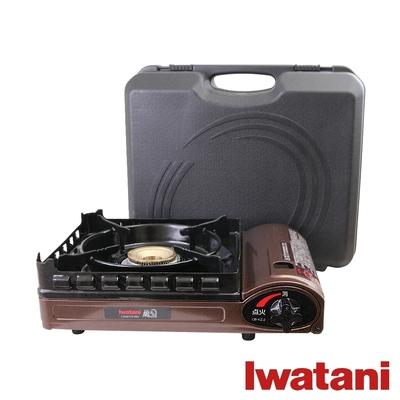 日本Iwatani岩谷 新風丸超防風卡式爐3.5kW(附收納硬盒)CB-KZ-2