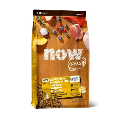 【加量不加價】Now! 鮮肉無穀天然糧 中型幼母犬配方 12磅-加量2磅 ★3.5磅4件替代出貨