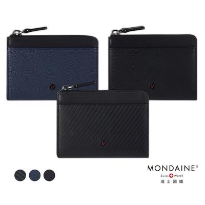 MONDAINE 瑞士國鐵 蘇黎世系列7卡風琴夾零錢包 - 三色任選