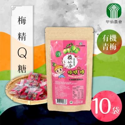 家購網嚴選 甲仙農會梅精Q糖 50gx10袋