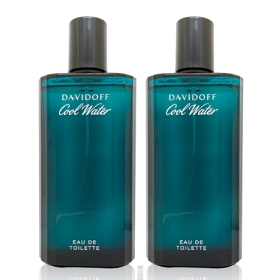 (兩入組)Davidoff Cool Water 冷泉男性淡香水 125ml